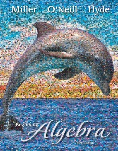 Beginning Algebra  3rd 2011 edition cover