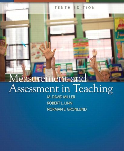 Measurement and Assessment in Teaching  10th 2009 edition cover