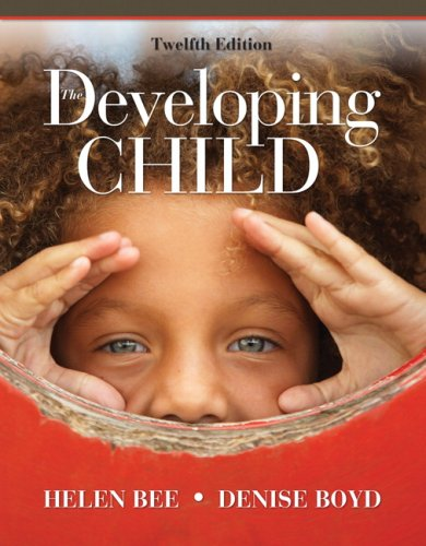 Developing Child  12th 2010 edition cover