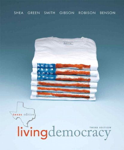Living Democracy  3rd 2011 9780205825936 Front Cover