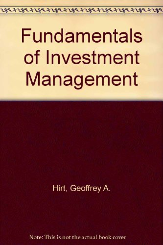 Fundamentals of Investment Management 6th 1999 9780256261936 Front Cover