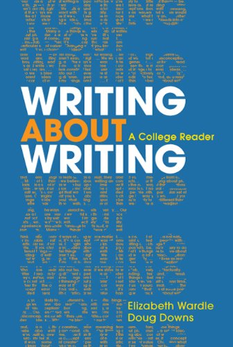 Writing about Writing A College Reader  2011 edition cover