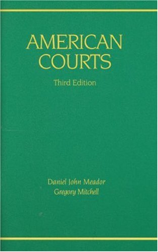 American Courts  3rd 2010 (Revised) edition cover