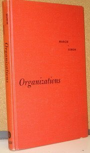 Organizations N/A 9780471567936 Front Cover