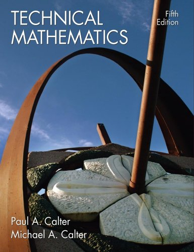 Technical Mathematics  5th 2007 (Revised) edition cover