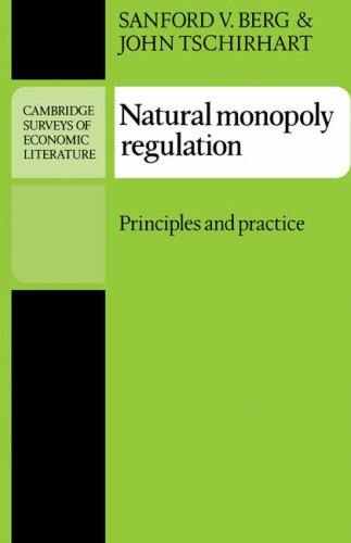 Natural Monopoly Regulation Principles and Practice  1988 edition cover