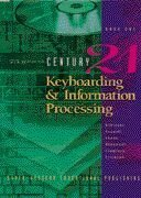 Century 21 Keyboarding and Information Processing Book One, 150 Lessons 6th 1997 (Revised) edition cover