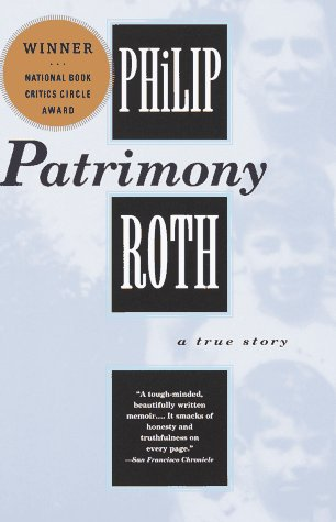 Patrimony A True Story N/A 9780679752936 Front Cover