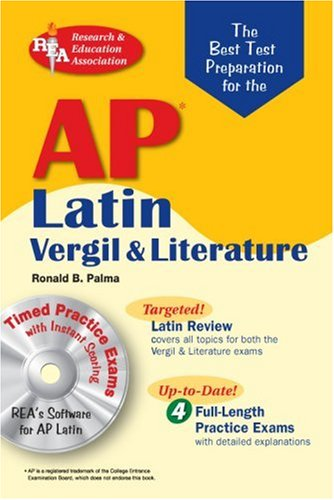 AP Latin Vergil and Literature  N/A 9780738602936 Front Cover