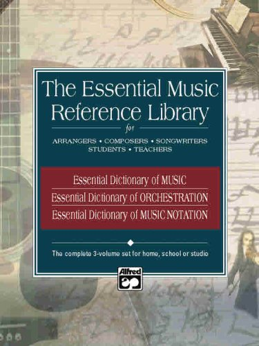 Essential Music Reference Library Boxed Set, 3 Books Box Set  2002 edition cover