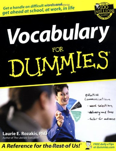 Vocabulary for Dummies   2002 edition cover