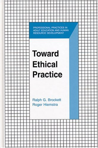 Toward Ethical Practice   2004 edition cover
