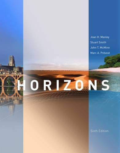 Horizons: Activities Manual  2014 edition cover