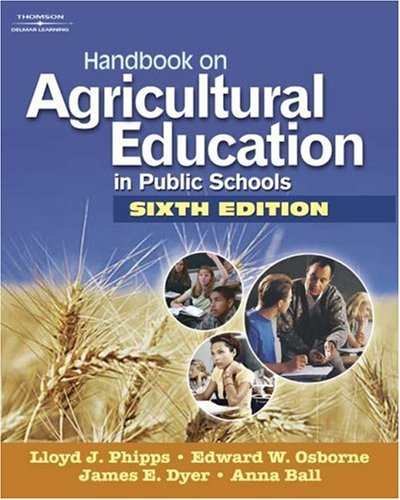 Handbook on Agricultural Education in Public Schools  6th 2008 edition cover
