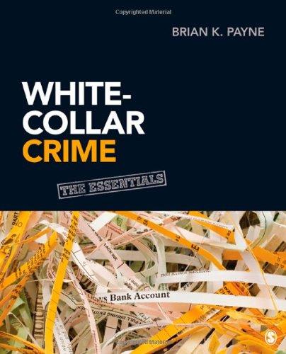 White-Collar Crime The Essentials  2013 edition cover