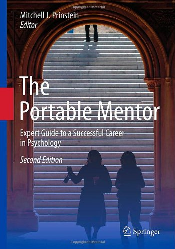 Portable Mentor Expert Guide to a Successful Career in Psychology 2nd 2013 edition cover
