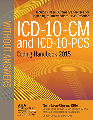 ICD-10-CM and ICD-10-PCS Coding Handbook, 2015 Ed. , Without Answers  N/A edition cover