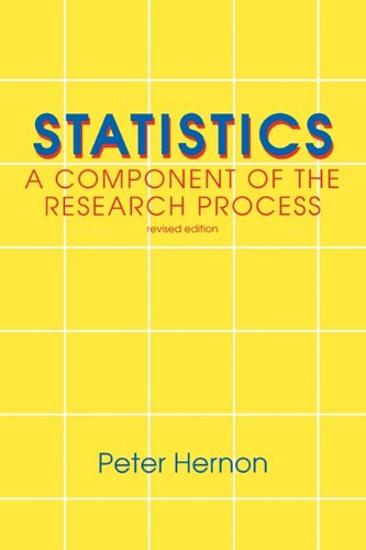 Statistics A Component of the Research Process 2nd 1994 (Revised) 9781567500936 Front Cover
