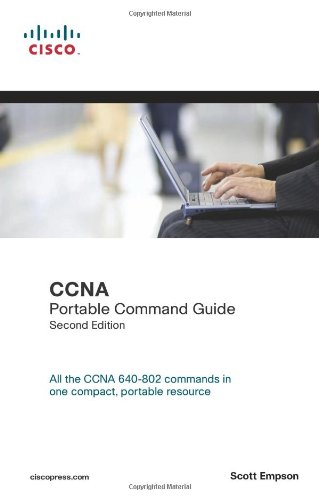 CCNA Portable Command Guide  2nd 2008 edition cover