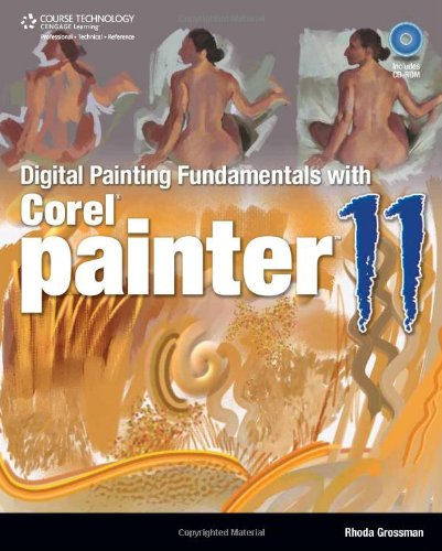 Digitial Painting Fundamentals with Corel Painter 11   2010 edition cover