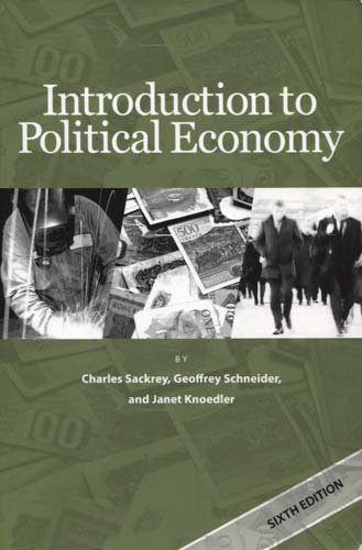 Introduction to Political Economy 6th edition cover