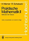 Praktische Mathematik II: Methoden Der Analysis  1978 edition cover