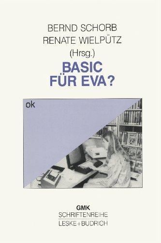Basic F�r Eva?   1990 9783810006936 Front Cover