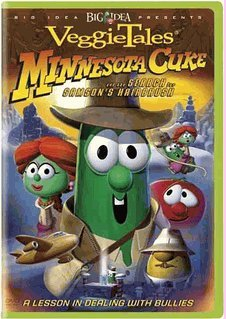 Veggie Tales :Minnesota Cuke - The Search for Samson's Hairbrush - A Lesson in Dealing with Bullies System.Collections.Generic.List`1[System.String] artwork