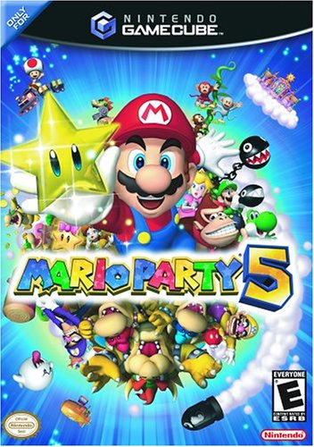 Mario Party 5 GameCube artwork