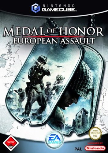 Medal of Honor: European Assault GameCube artwork