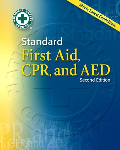Standard First Aid, CPR and AED 2nd 2007 edition cover