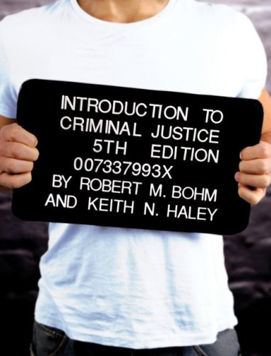 Introduction to Criminal Justice  5th 2008 9780073379937 Front Cover