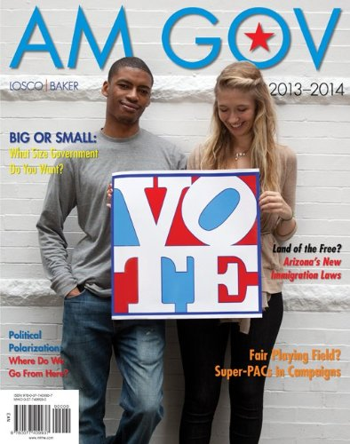 Am Gov 2013-2014  3rd 2013 edition cover