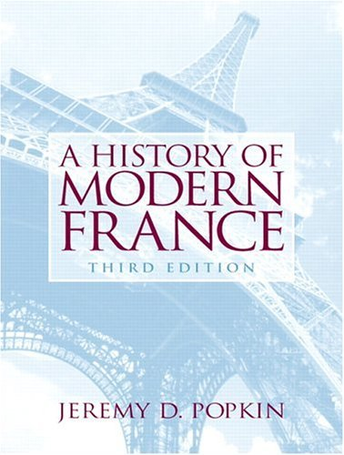 History of Modern France  3rd 2006 (Revised) edition cover