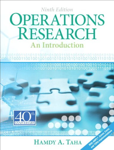 Operations Research An Introduction 9th 2011 edition cover