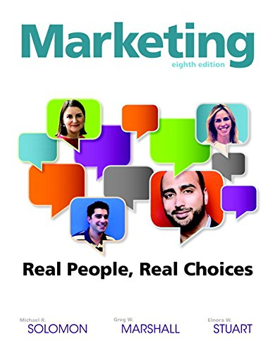 Marketing: Real People, Real Choices  2015 edition cover