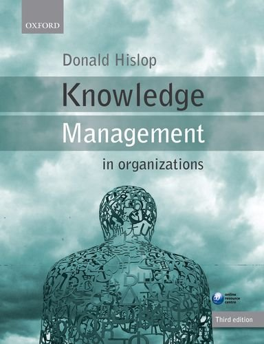 Knowledge Management in Organizations  3rd 2013 edition cover