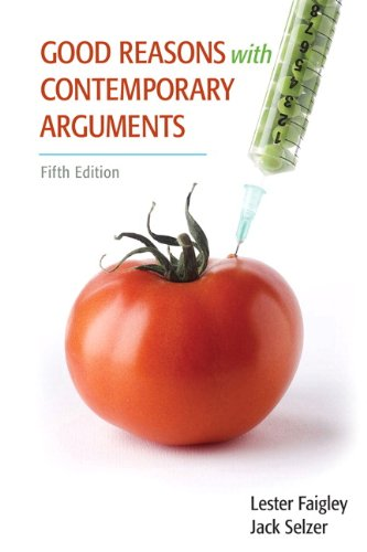 Good Reasons with Contemporary Arguments  5th 2012 edition cover