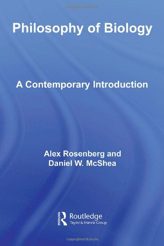 Philosophy of Biology A Contemporary Introduction  2008 edition cover