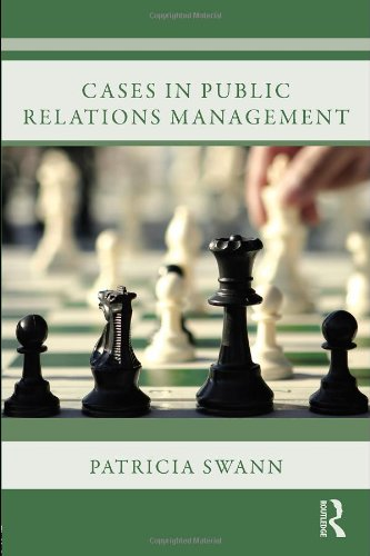 Cases in Public Relations Management   2007 edition cover