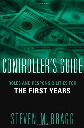 Controller's Guide Roles and Responsibilities for the First Years  2005 edition cover