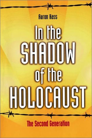 In the Shadow of the Holocaust The Second Generation  1996 (Revised) 9780521498937 Front Cover
