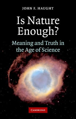 Is Nature Enough? Meaning and Truth in the Age of Science  2006 edition cover