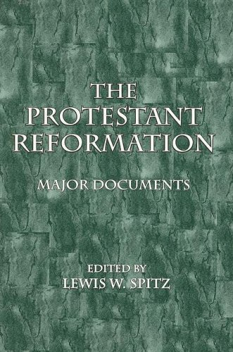 Protestant Reformation Major Documents N/A edition cover