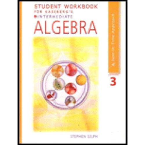 Intermediate Algebra:  3rd 2006 9780618914937 Front Cover