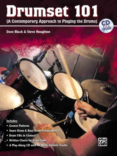 Drumset 101 (A Contemporary Approach to Playing the Drums)  2007 edition cover