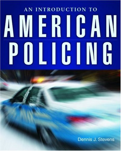 Introduction to American Policing   2009 edition cover