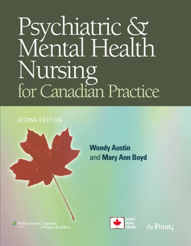 Psych Mental Hlth Nursg Canadian  2nd 2010 (Revised) edition cover