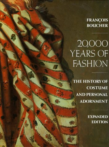 20000 Years of Fashion The History of Costume and Personal Adornment  1987 (Expanded) edition cover