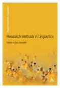 Research Methods in Linguistics   2009 edition cover